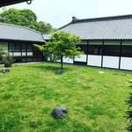 【京都御苑めぐり】展示物見学無料!宮家を偲ぶ建物と緑豊かな庭園☆「閑院宮邸跡」