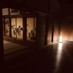 「夜、金の秘密が見えてくる」で奇跡の一枚を撮影「妙心寺 塔頭 春光院 」