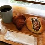 【京都モーニングめぐり】朝8時からイートインでお手軽朝食!横浜の超有名仕込みのパンが絶品☆「パティスリー タツヒト サトイ」