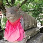 『牛だらけ』京都【北野天満宮】に牛は何頭いるのか?数えてきました。結果はいかに?