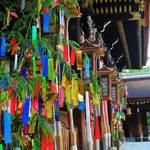 【京都の七夕】北野天満宮で七夕飾りを楽しもう♪