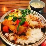 【京都ランチめぐり】烏丸御池の好立地ベトナム料理!カラフル野菜たっぷりランチ☆「ラ・パパイヤベール」