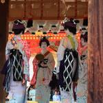 【2019祇園祭後祭】華やかで艶やかな花笠巡行。令和元年は四花街が参加し、舞踊奉納は更に華やかでした♪