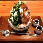 【京都かき氷めぐり】銀閣寺スグの隠れ家的人気和カフェ!抹茶&黒蜜味が楽しめる☆「茶房一倫」