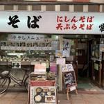京都三条の昭和レトロ感溢れる大衆食堂「生そば 常盤」
