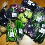 【京都野菜めぐり】伏見中心に産直レアな夏野菜満載!一風呂ついでにお買いもの☆「じねんと市場」