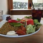 【大原カフェ】大原『KULM』でお野菜たっぷりのキーマカレーをいただきました♪