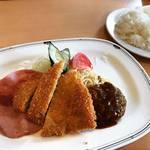 【京都ランチめぐり】西賀茂車庫前の昔ながらのローカル店!家庭的な洋食にほっこり☆「レストラン西加茂」