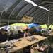 【京都朝市めぐり】毎週日曜日開催!まさに産地直送野菜!!牧歌的風景の畑の市場☆「静原里の市」
