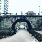 【京都名橋めぐり】二条城と御所を結ぶ全国的にもレアな石造アーチ!かつての市電路線跡も☆「堀川第一橋」