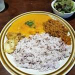【京都居酒屋】二毛作営業のランチカレー「DA UCHI curry(ダウチカレー)」