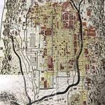 【京都ぶらり】追跡☆江戸時代の古地図にある洛中南北を流れる幻の川「西洞院川」