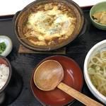 絶品‼︎お味とコスパに大満足!定食がオススメ「京そば処 志乃崎」