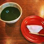 【京都喫茶店めぐり】新年にふさわしい縁起物の抹茶&和菓子!創業300年の老舗☆一保堂茶舗「嘉木(かぼく)」