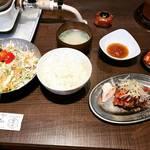 【京都ランチめぐり】コスパ最強!割安の近江牛焼肉定食でご飯おかわり無料!!平日でも行列☆「肉の醍醐」