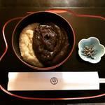 【京都和菓子めぐり】季節の甘味『粟ぜんざい』必食!京都を代表する老舗の贅沢空間☆「鶴屋吉信本店」