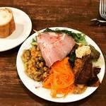 【京都ランチめぐり】ボリューミーな前菜と熱々グラタンで大満足!種類豊富なフレンチデリに心躍る☆「ガーニッシュ」