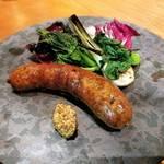 人気炭火焼ソーセージ酒場の3号店 「Legante(レガンテ)」がオープン!