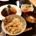 【京都ランチめぐり】老舗米屋奥にある隠れ家洋食!自家精米ご飯おかわり自由でコスパも◎「キッチンパパ」