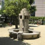 【京都建物めぐり】四条烏丸オフィス街の『ラジオ塔』遺構!都会のオアシス的存在「御射山公園」