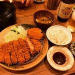 【京都とんかつめぐり】ご飯味噌汁キャベツおかわり自由!高コスパの人気店☆「かつかつとんとん」