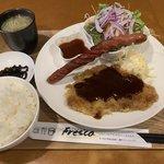 【京都ランチ】圧倒的ボリュームの洋食ランチ「喫茶フレスコ」