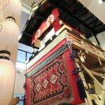 【祇園祭】山鉾巡行を体感。鉾が常設展示、年中祇園祭気分を味わえます『祇園祭ぎゃらりぃ』