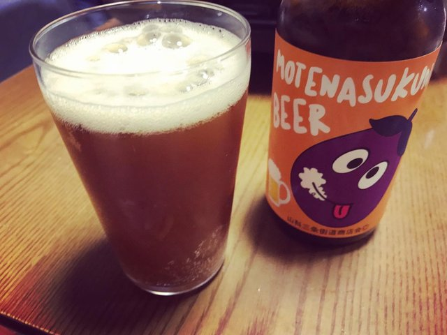 【京都ご当地グルメ】京野菜の地ビールで注目!ゆるキャラ『もてなすくん』が目印「龍野酒店」