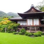 昭和の映画スター・大河内傳次郎の邸宅跡にお邪魔しよう!『大河内山荘庭園』