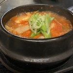 阪急・西院で一人飯、韓国料理『香蘭』はスープがうまい