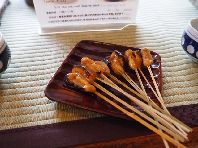 京都の門前菓子あぶり餅、『一文字屋和輔』と『かざりや』で食べ比べ【今宮神社】