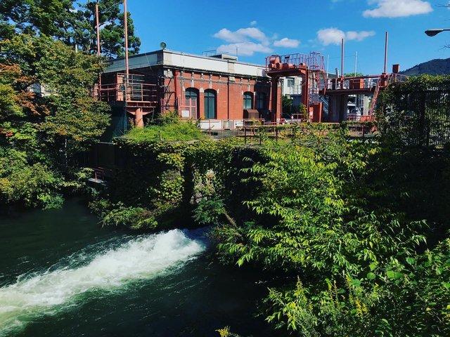 【京都ダム活】京都市内にダム?琵琶湖疏水を利用した水力発電所☆「夷川ダム」