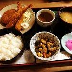 【京都ランチめぐり】京都駅前の破格700円定食!サラリーマン御用達「割烹いいむら」