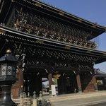 【2020紅葉最新】京都駅前の広大な境内の銀杏並木!京都タワー背景撮影も「東本願寺」