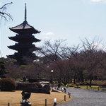 平安京の二大官寺の一つ、世界文化遺産『東寺』を散策