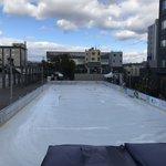 【冬レジャー】昨年オープン☆京都唯一の屋外スケート場「くまのがっこうアイスリンク」