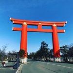 京都で一番大きな鳥居!平安京建築を模した明治創建の神社「平安神宮」
