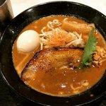 【期間限定】京都最強つけ麺店の濃厚味噌ラーメン!老舗コラボの熟成味「麺屋たけ井」
