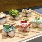 和と洋の出逢い、カラフル団子に心も弾む!IRO-MOCHI-『茶寮 和香菜』