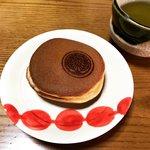 【新店】京都和菓子の名店で修業し西院に1月オープン☆家紋の店名「まるに抱き柏」