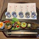 老舗「京都一の傳」で春・弥生御膳と日本酒を楽しむ