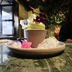 巷で話題の蘭のソフトクリーム☆カフェのあるフラワーショップ「Maestro (マエストロ)京都」【御所南】
