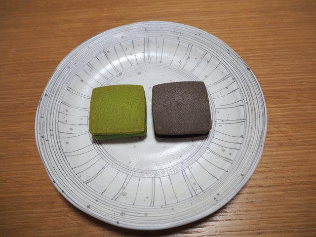 『中村藤吉』のチョコサンドクッキー「茶Colate」は食感が楽しい!