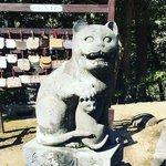 【京都珍狛】ネコ好き必訪!日本唯一の狛猫☆しかも子猫同伴「金刀比羅神社」