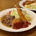 【京都洋食】伏見・老舗洋食店のスペシャルランチ『サラダの店サンチョ』