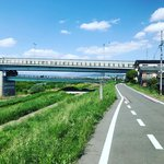 【京都ぶらり】桂川サイクルロードにある豊臣秀吉時代の水上交通要衝「魚市場遺跡」