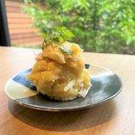 京都、女子ウケ立ち飲みの先駆者「すいば」の人気メニュー『ポテトサラダ』の作り方