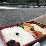 【京都テイクアウト】2020年オープン☆嵐山の眺望で名店の味を楽しむ「太秦弁当村」