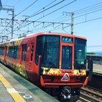 【京都乗り物】JR嵯峨野線からなぜか琵琶湖畔も運行中!?「森の京都QRトレイン」