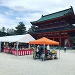 【京都イベント】平安神宮で絶賛開催中『古本まつり』☆夏越の祓『茅の輪』も登場